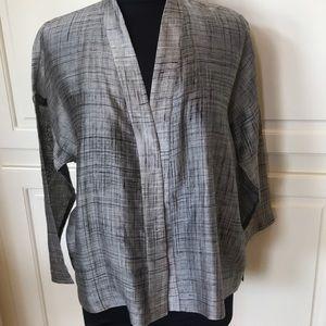 Eileen Fisher Amazing Silk Cotton Blend Top